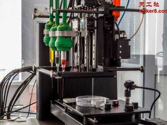 俄罗斯首台3D生物打印机将于10月发布
