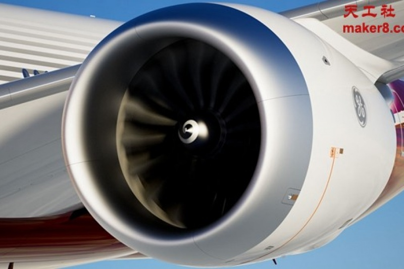 GE考虑3D打印波音最新777X客机发动机部件