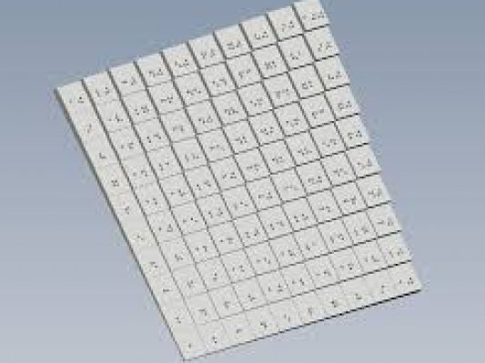意大利3D打印机厂商发布盲文转换及3D打印软件