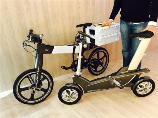 福特借助3D打印研发智能自行车
