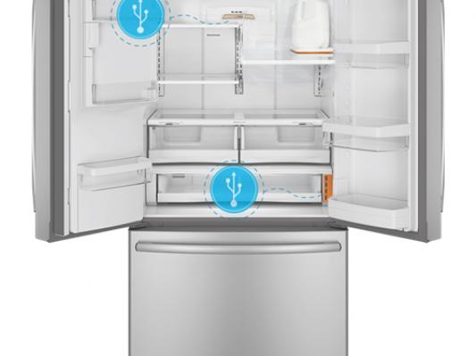 通用电气推出全球首款支持3D打印配件的智能冰箱