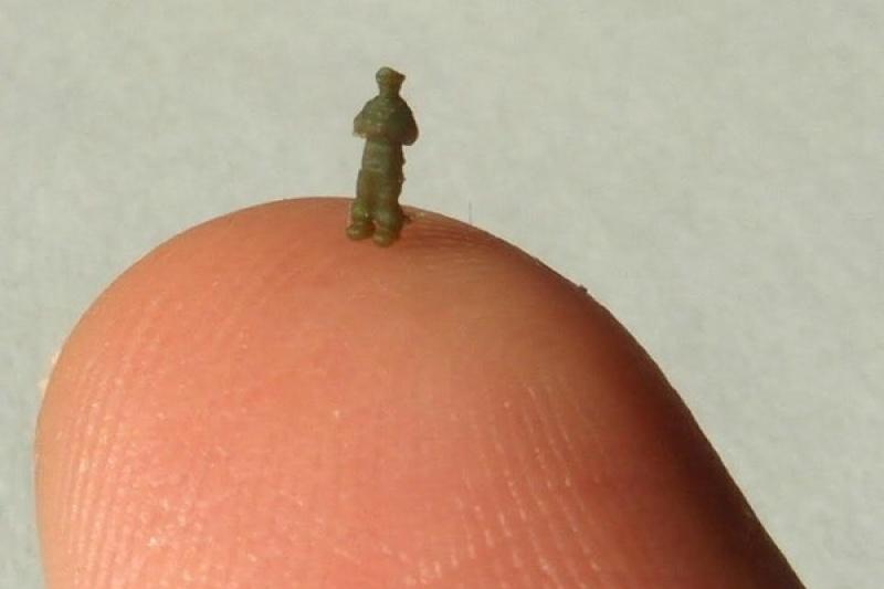另一种极限:3D打印3毫米高精细人像