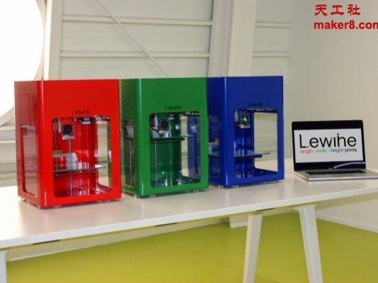 可直接打印柔性材料的Lewihe 3D打印机