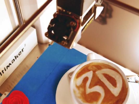 欧洲首家3D打印主题咖啡馆经营现状