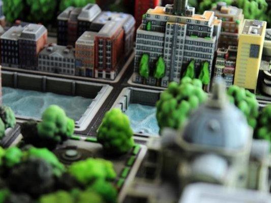 建筑迷成立公司专门3D打印世界经典建筑模型