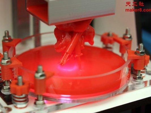 开源DLP 3D打印机LittleRP即将上市