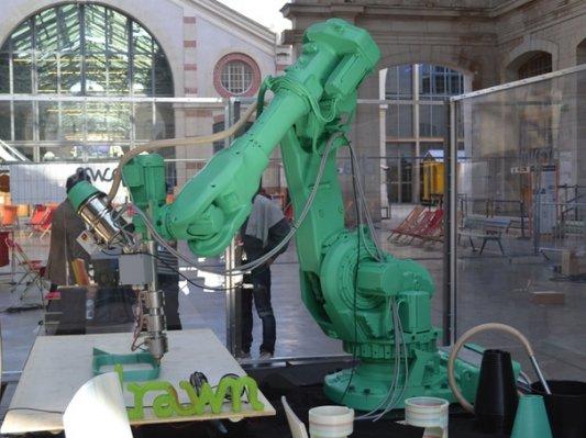 巨人手臂Galatéa:打造独属你的3D家具工厂!