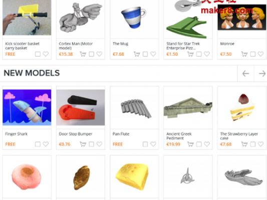 在线3D打印市场Threeding增加新功能提升用户体验