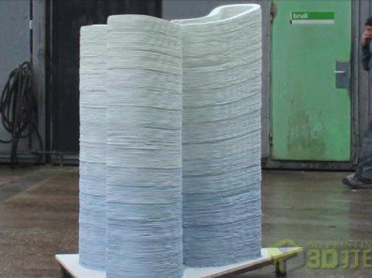【建筑】荷企欲突破高精度、多色混凝土3D打印技术