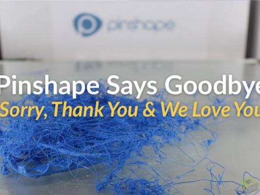 知名在线3D模型库Pinshape宣布倒闭