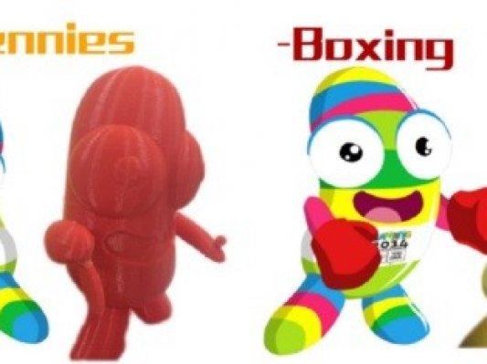 杭州先临发布青奥会吉祥物3D模型供下载