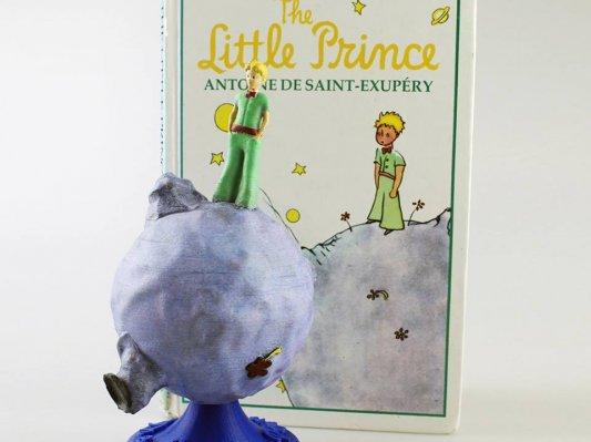 艺术家制作《小王子》人物3D模型,具象感知经典魅力