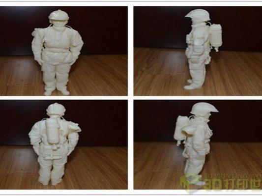 浙江消防总队成功运用3D打印技术制造消防车配件