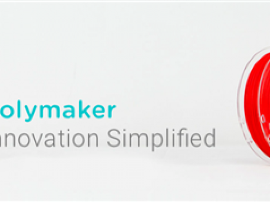 3D打印材料制造商Polymaker获联想300万美元融资 研发生产新一代3D打印材料