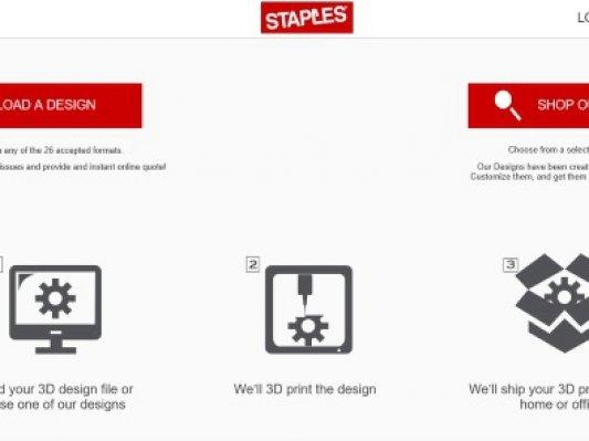 试水成功 办公连锁巨头史泰博推出在线3D打印平台