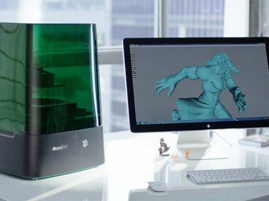 众筹了44万美元的3D打印机MoonRay要来珠海展了!