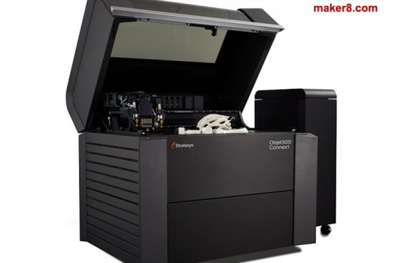 Stratasys新推两款3D打印机Connex1和Connex2