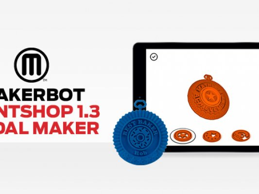 MakerBot免费设计软件PrintShop 1.3版发布