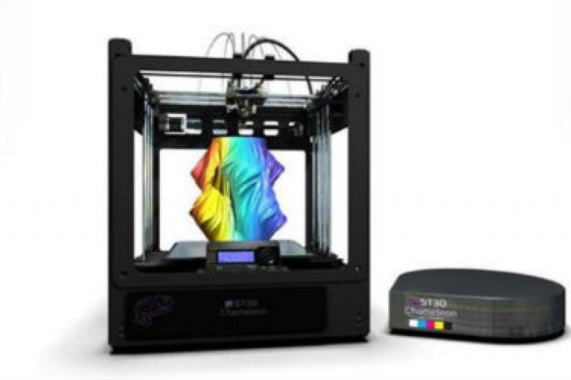 以色列something3D宣布推出全彩桌面型3D打印机