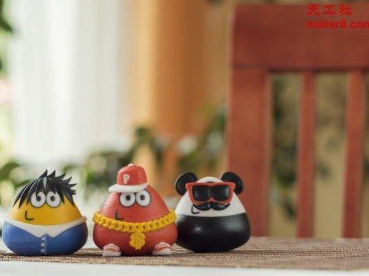 Toyze获热门游戏《Pou》3D打印游戏形象授权
