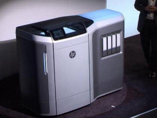 惠普来了!携革命性的多射流熔融3D打印技术现身