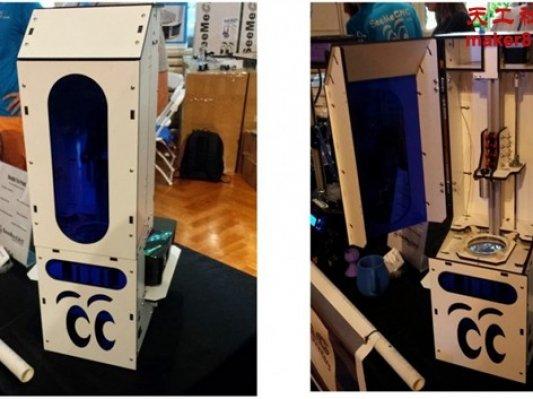 全开源的DLP 3D打印机Droplit将推出
