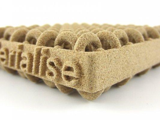 Materialise推出可激光烧结的木质3D打印材料