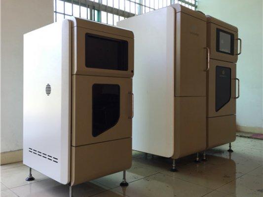 """东方博达数字光处理快速成型机""""兄弟组合""""集体亮相珠海亚洲3D打印展"""