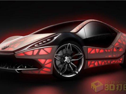 轻质结构+个性设计:从3D打印机中跑出来的未来汽车