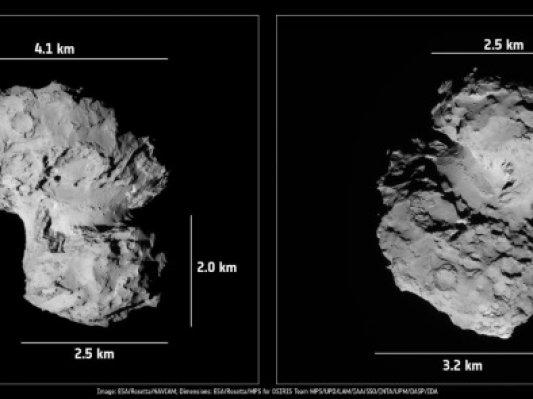 欧洲航天局发布彗星3D模型供下载打印