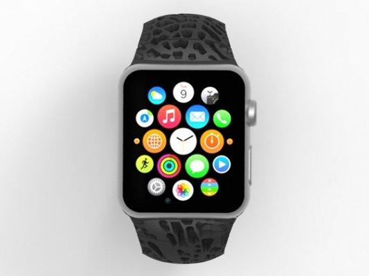 Apple Watch一推出 3D Systems即发布个性化表带