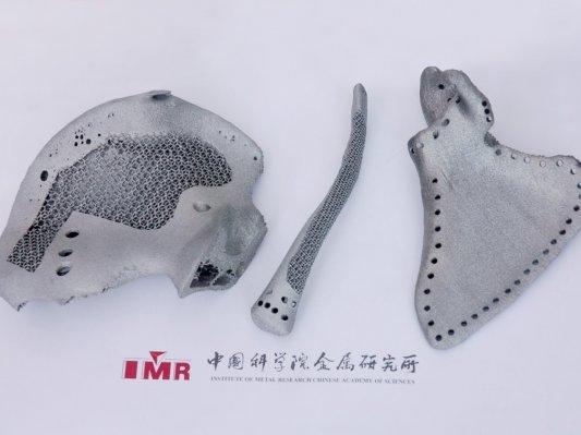 中国科学院钛合金3D打印取得进展
