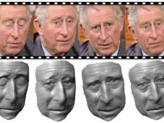 科学家开发出准确捕捉表情的3D建模新方法