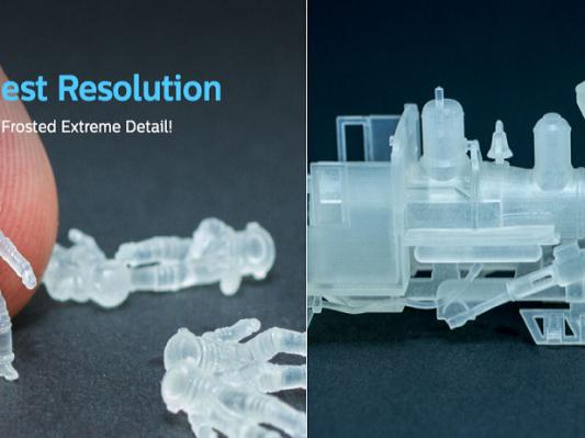Shapeways推出最精细的3D打印材料FXD