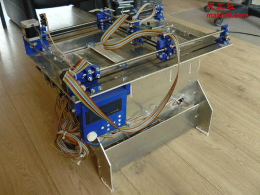 全球首台基于3DP技术的开源3D打印机Plan B