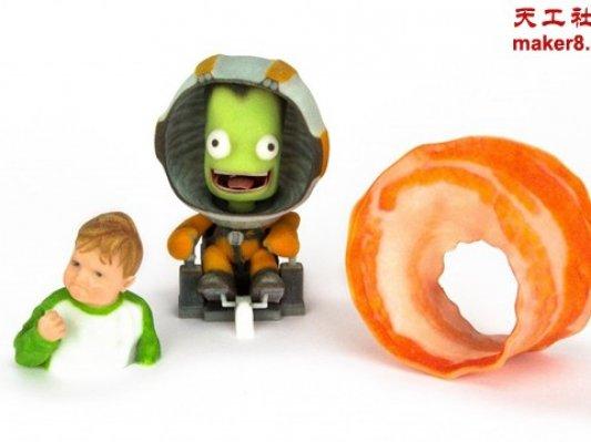 Shapeways推出全彩色塑料3D打印材料