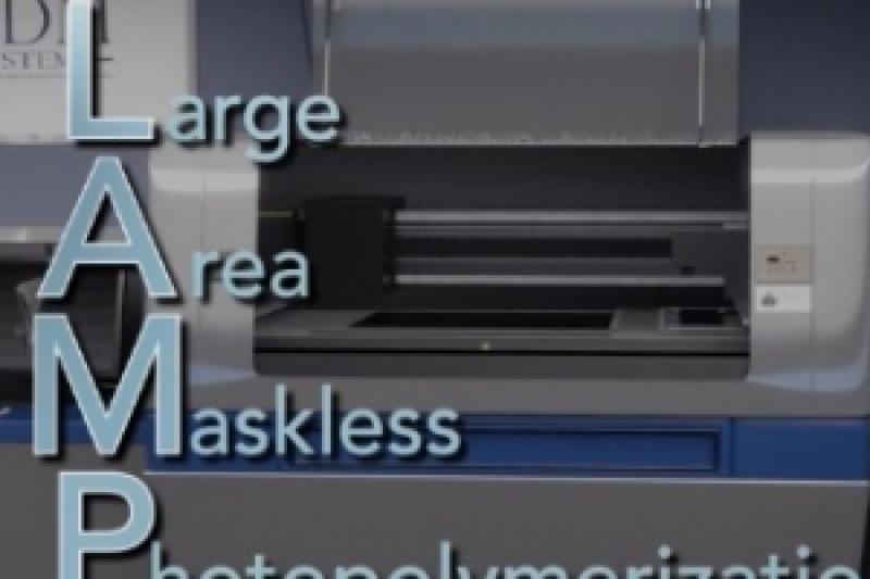 DDM将推出大幅面光聚合工业级3D打印机LAMP