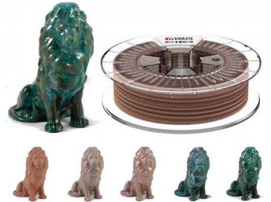 Formfutura推出:含80%金属粉末的PLA线材