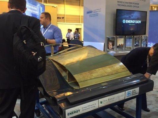 美国能源部3D打印6英尺长风机叶片模具  大幅节约开发成本