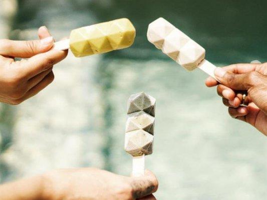 冰棒革命:3D打印模具+前卫口感 给炎炎夏日带来美味喘息