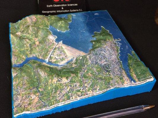 溢洪修复案例:交互式3D模型重现大坝原貌