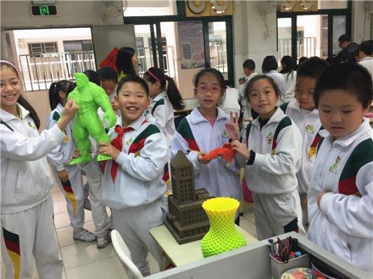 3D打印走进广州市华侨小学