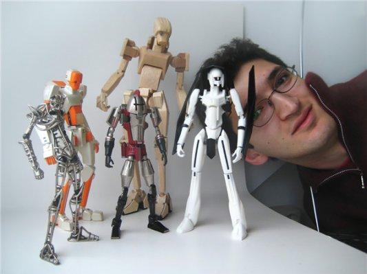 从玩具收藏迷到设计师  Mani Zamani的这些3D打印玩具酷爆了!