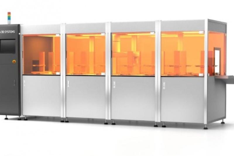 3D Systems推出批量生产的3D打印平台Figure 4:轻松年产100万颗牙冠