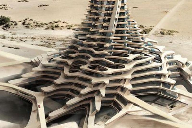 中东土豪新玩法:阿联酋要3D打印摩天大楼