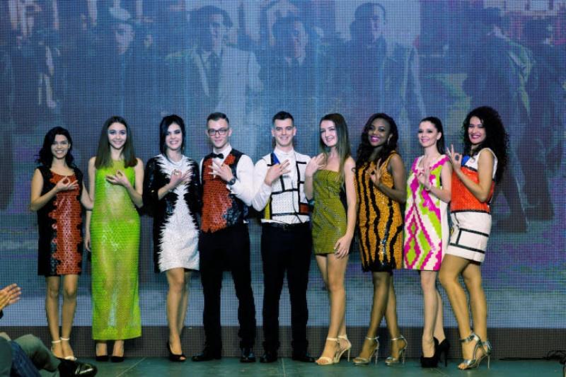 当3D打印礼裙遇见2016环球小姐比赛……