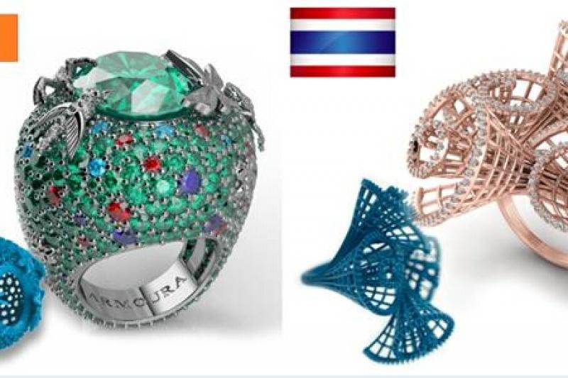 闪耀巴塞尔珠宝设计2017:这些3D打印珠宝美炸了