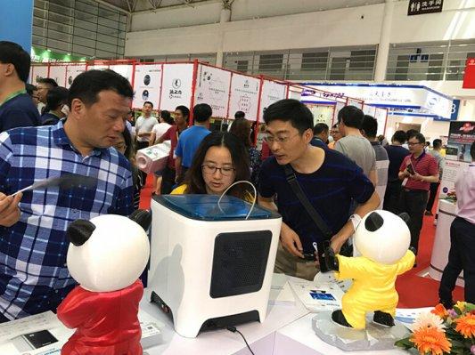 3D打印闪耀教育装备展!先临三维3D扫描到3D打印一站式创新教育解决方案