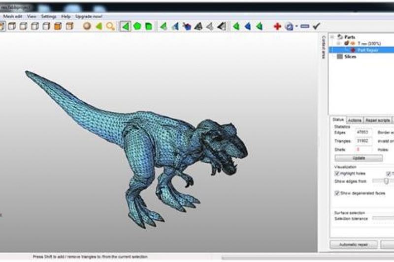 3d打印文件设计难?文件不能打印?试试这4款常见的检测修模工具