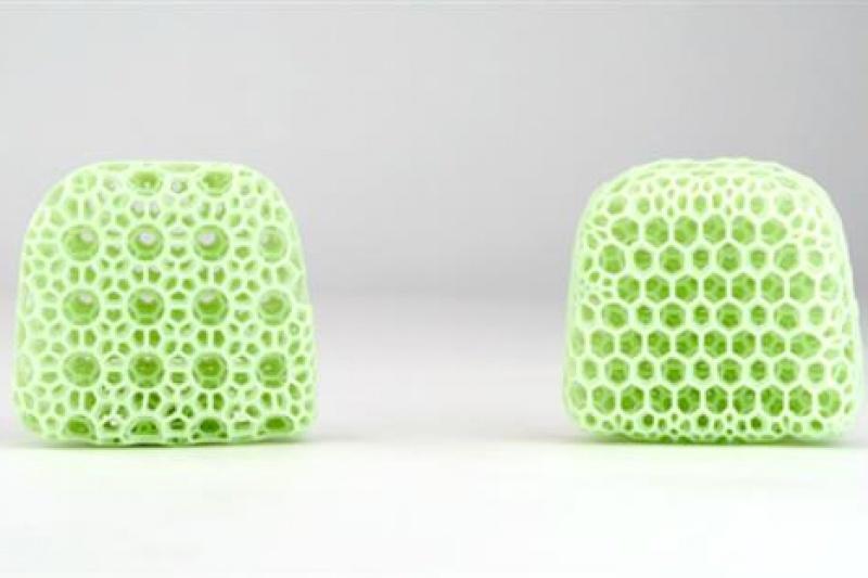 泡沫制造业将遭重创?Carbon力推可调节3D打印立方晶格